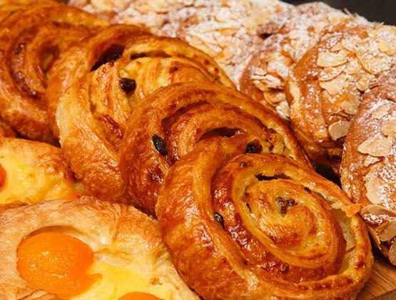 Pastries Almond Croissants