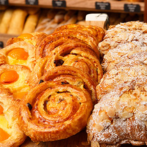 Pastries Almond Croissants