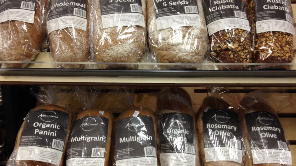 Packaged Retail Bread