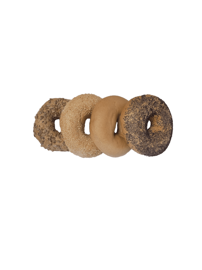 A selection of bagels